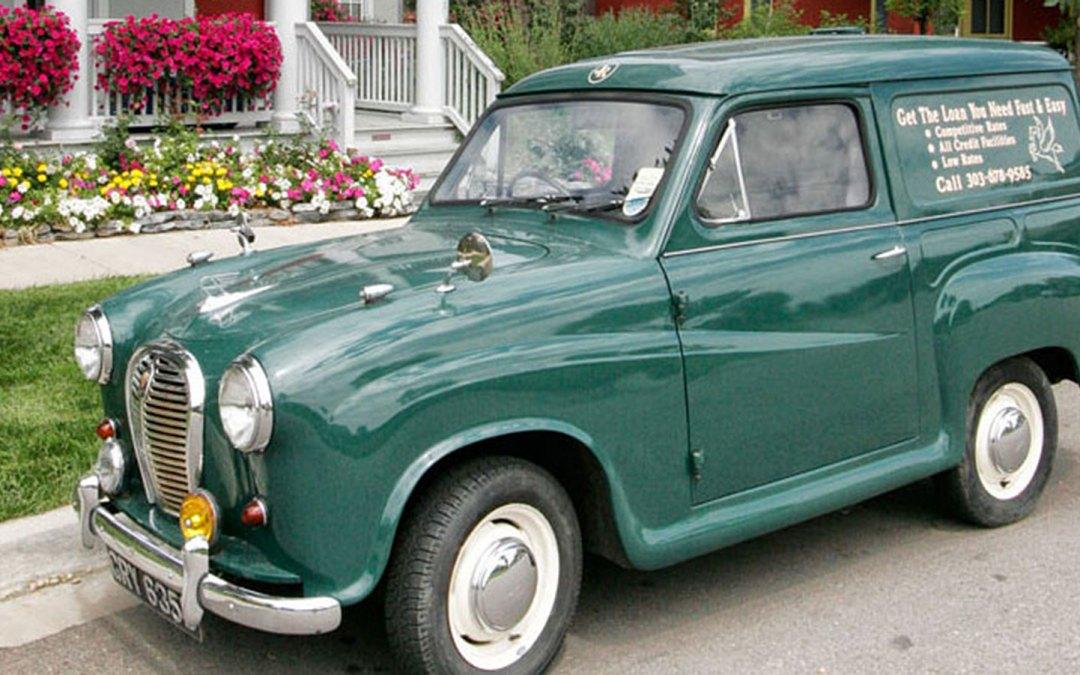 When Mini Vans Were Cool