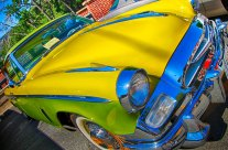 Photographing a Colorful Studebaker
