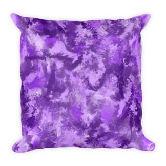 Purple Passion Square Pillow