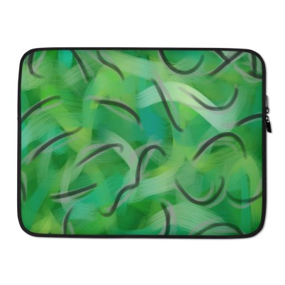 Envy Me Green Laptop Sleeve