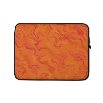 Sunrise Orange Laptop Sleeve