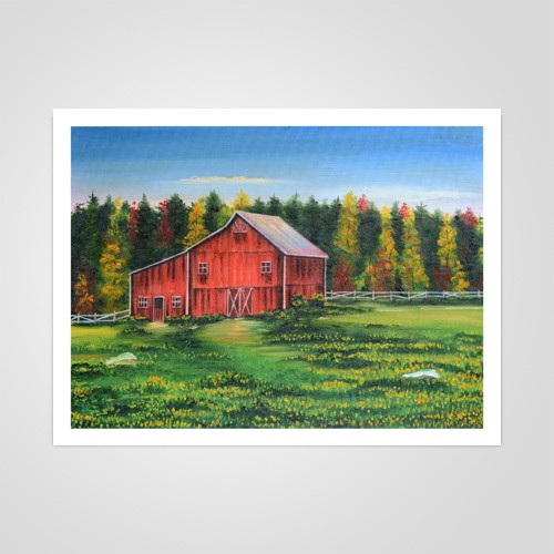 Little Red Barn by Johnny Mapp