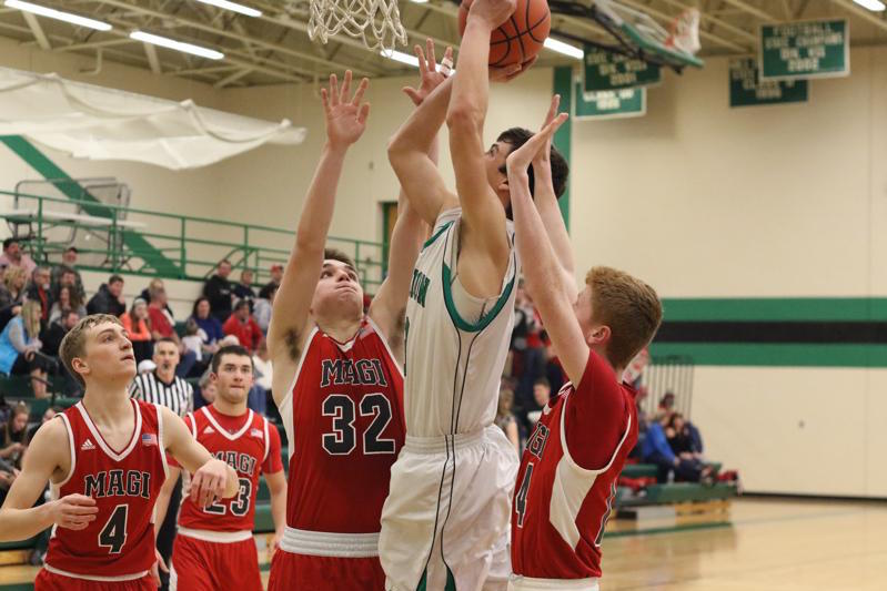 Mendon boys sizzle in the first half en route to Class D district semifinal hoops win over Colon