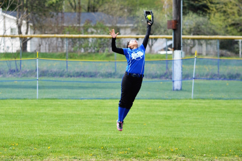 Pittsford softball claims two wins at Burr Oak