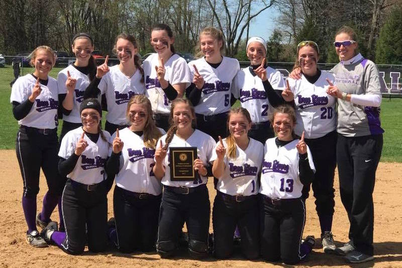 Three Rivers softball hands Constantine first loss of the year en route to home tourney title