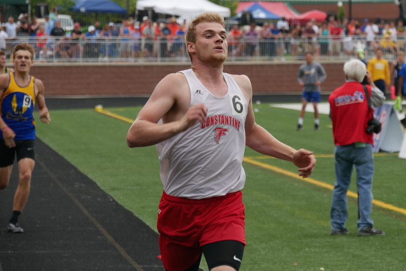 Constantine's Evilsizor and McNamara secure all-state status at Division 3 state track championship