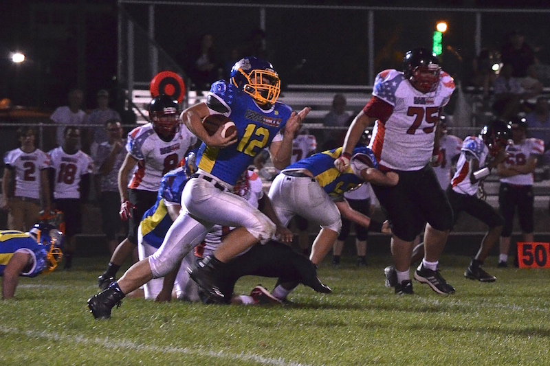 Gallery: Centreville football blows out Bangor for first win of the year