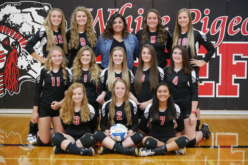 White Pigeon volleyball sweeps Colon