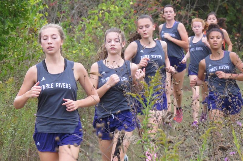 Three Rivers girls, Sturgis boys come away with Wolverine cross country wins