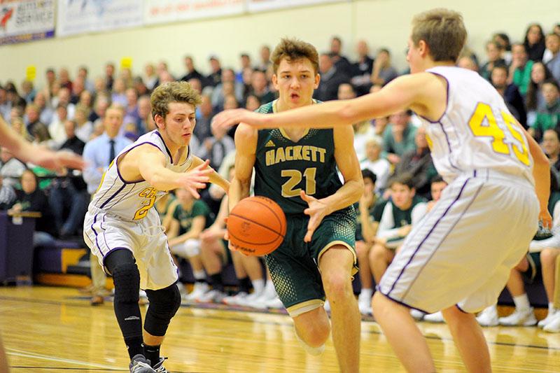 Kalamazoo Christian and Hackett Catholic to duel again at districts