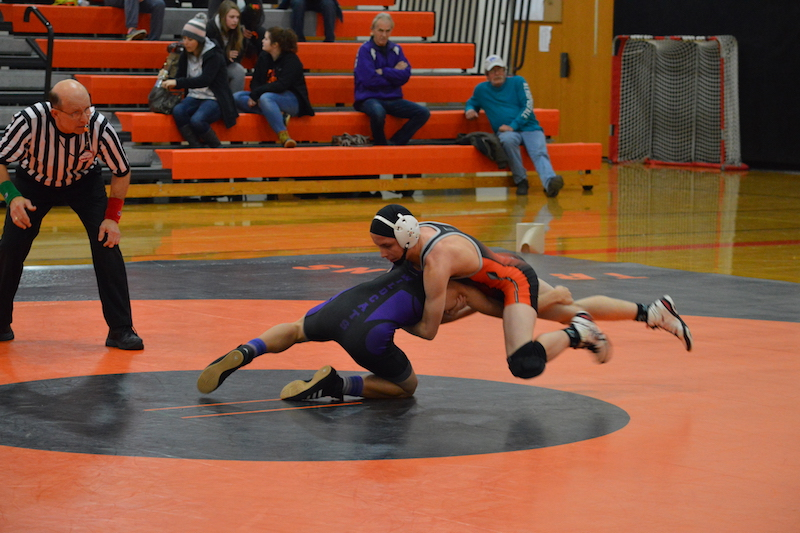 Gallery: Sturgis grapplers beat Three Rivers in final home match