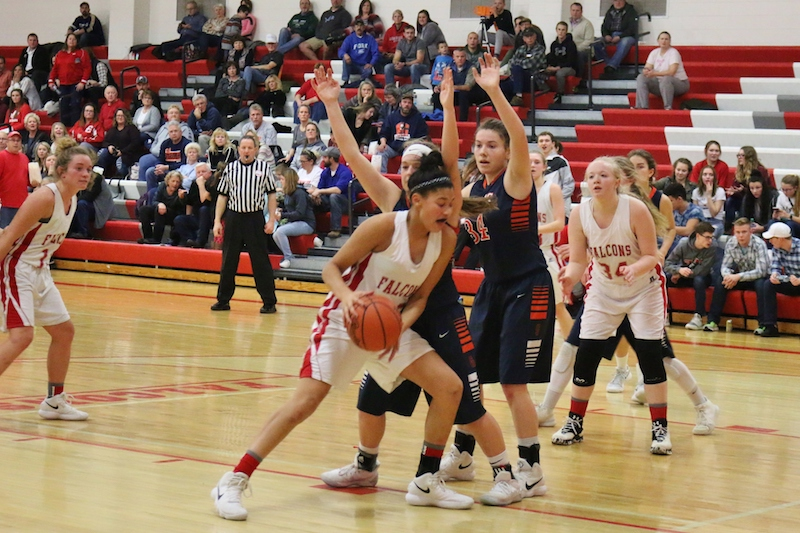 Gallery: Gobles tops Constantine in SAC girls basketball