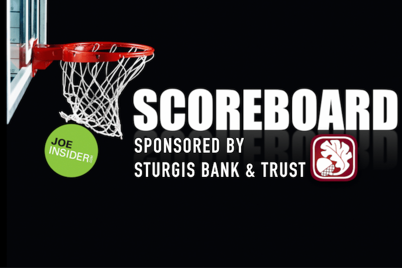 Basketball Scoreboard: St. Joseph and Kalamazoo Counties for Friday, Feb. 16