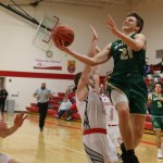 Hackett in high gear in lopsided boys basketball win at Constantine