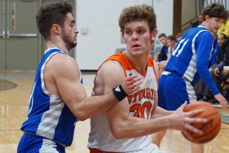 Harper Creek slips by Sturgis in first round of Class A boys basketball district play