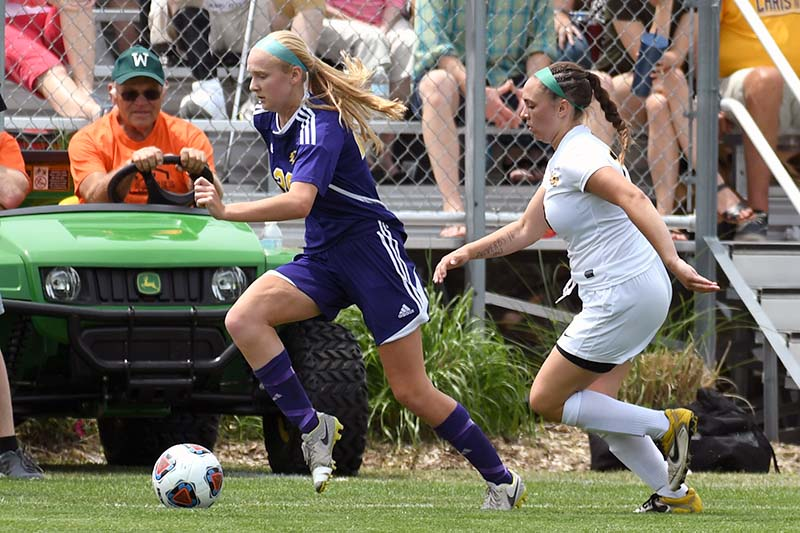 Kalamazoo Christian girls soccer team finishes year as state runner-up to Lansing Christian