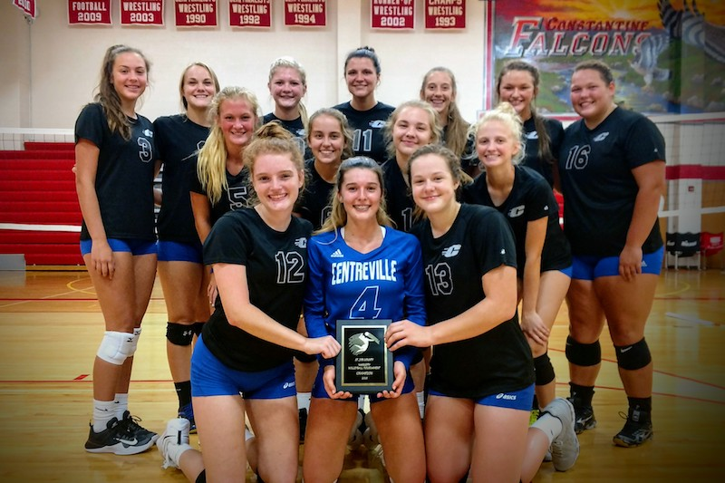 St. Joseph County Volleyball Tournament: Centreville runs table, edges Three Rivers in championship