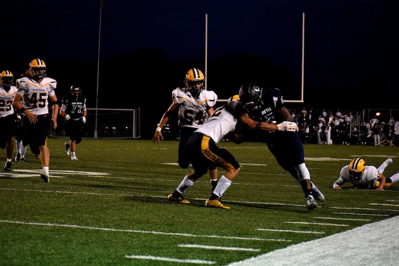 Portage Central Pounds Gull Lake 42 7 In Football Opener