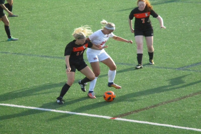 Kalamazoo College women's soccer opens season with 3-1 victory over MSOE