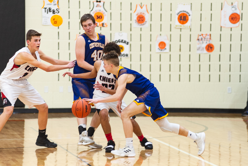 Centreville Vs White Pigeon Districts Mens BB 2 27 19-2