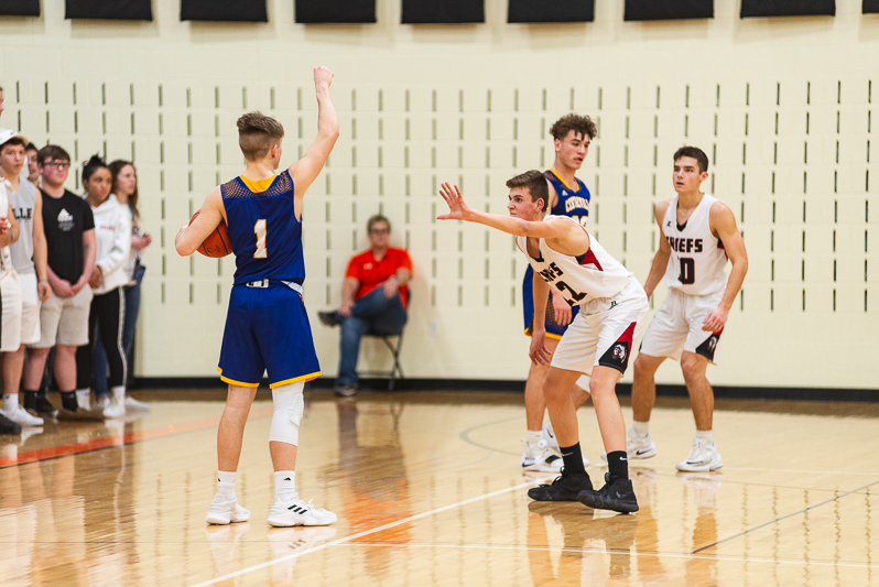 Centreville Vs White Pigeon Districts Mens BB 2 27 19-4