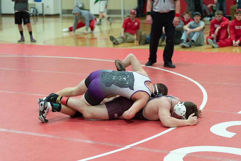 Wrestling Individual Districts-Constantine 2 9 2019-19