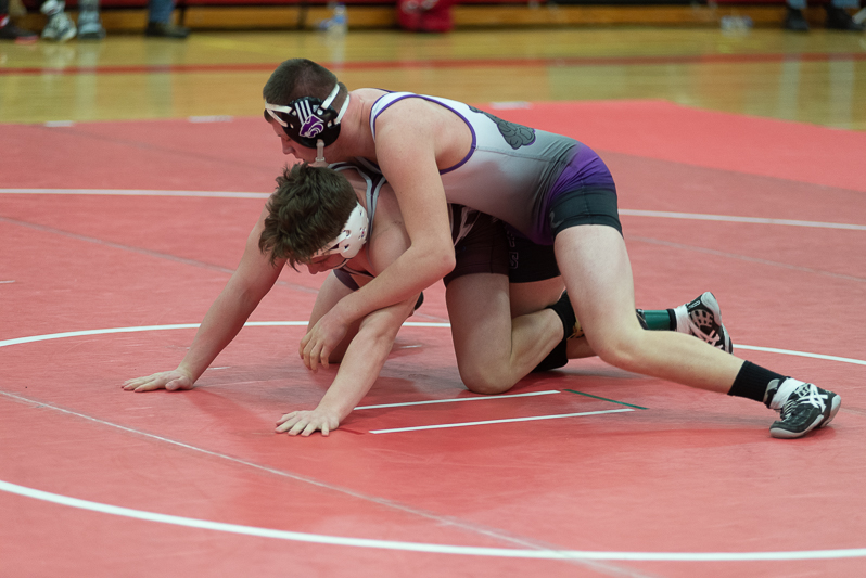 Wrestling Individual Districts-Constantine 2 9 2019-20