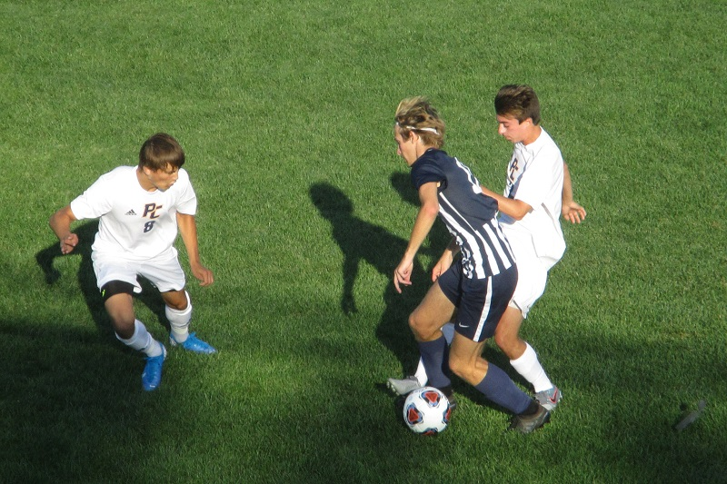 Late penalty kick leads to 1-1 draw between Loy Norrix and Portage Central