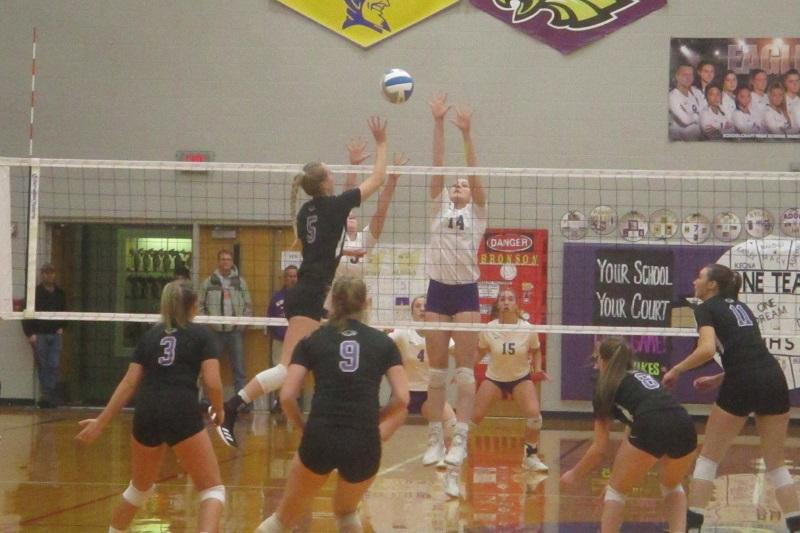 Volleyball Roundup: Schoolcraft, Mendon, Edwardsburg advance to regional finals