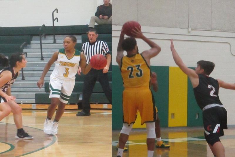 Glen Oaks basketball sweeps Andrews University in home doubleheader
