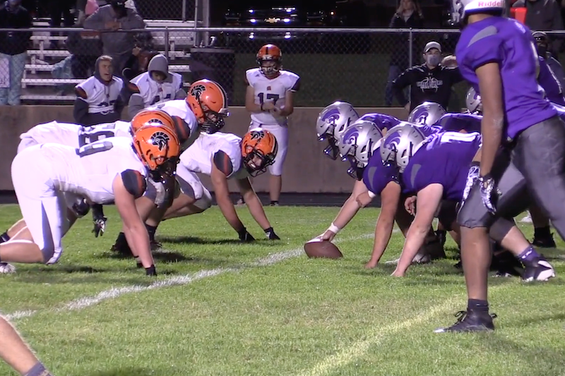 Final minute touchdown gives Sturgis 25-21 win at Three Rivers
