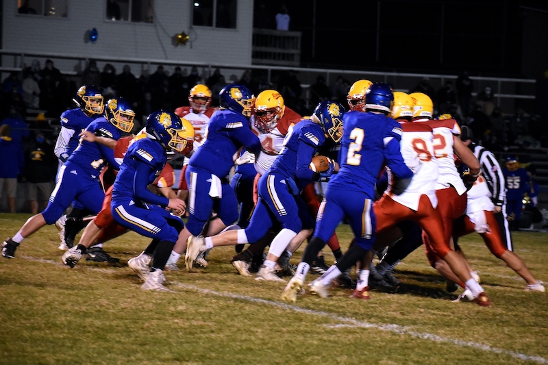 Gallery/Recap: Centreville ousts state champ Reading 32-14 for first district football crown
