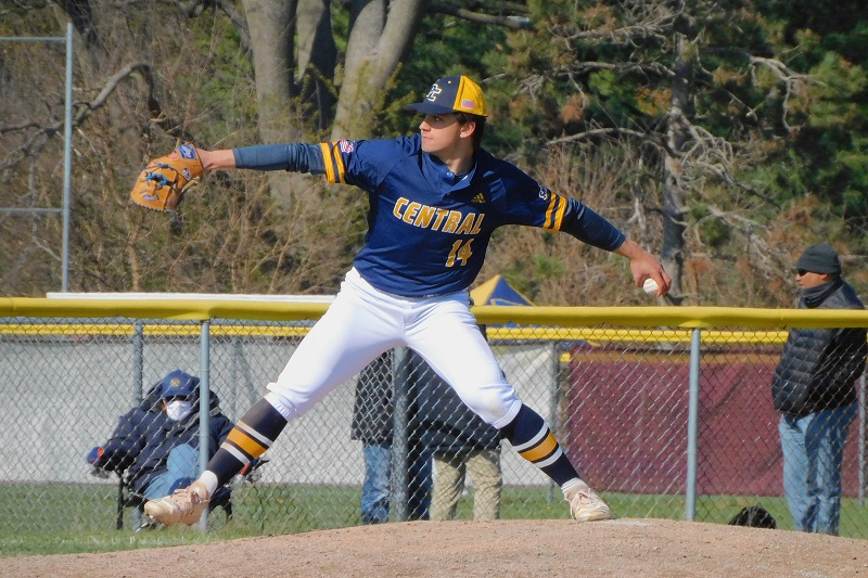 Portage Central drops Dow 5-1 in baseball state semifinal