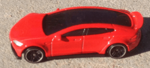 Hot Wheels Tesla Model S