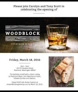 Woodblock Redmond