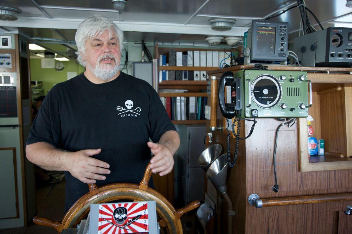 Captain Paul Watson Sea Shepherd