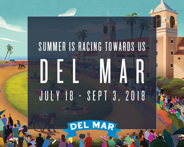 Opening Day at Del Mar is Wednesday July 18th