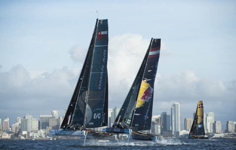 Extreme Sailing Series in San Diego For The Second Time