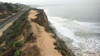 Del Mar Cliff Collapse December 10, 2018