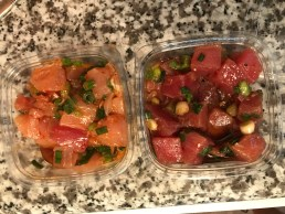 Ono Poke from Seaside Market in Cardiff California
