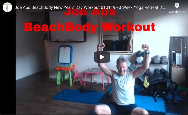 Joe Abs BeachBody Workout January 2, 2019