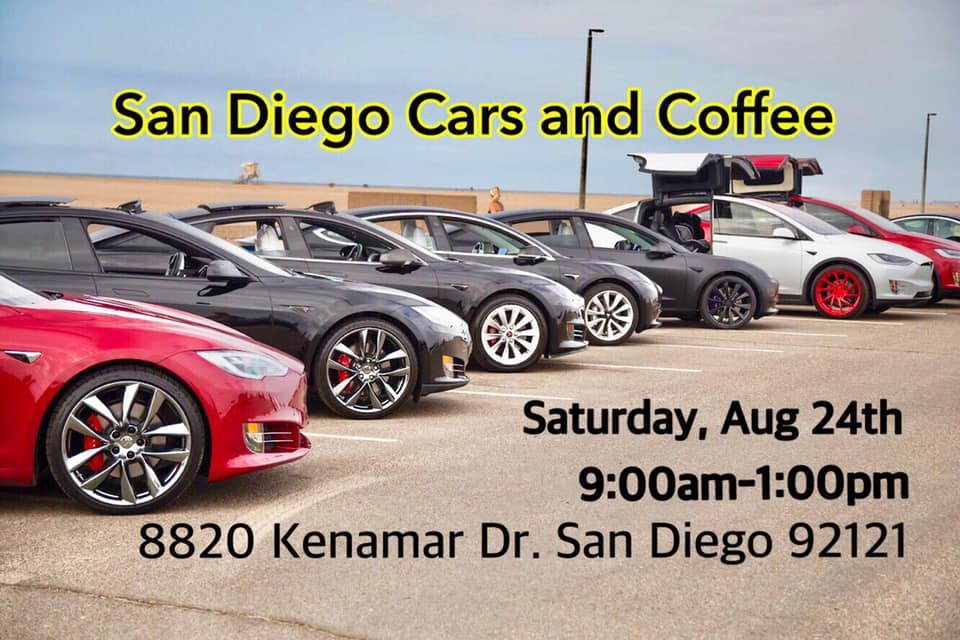 Looking for Financing on a Preowned Tesla Model S at San Diego Cars and Coffee w Tesla Club – SoCal