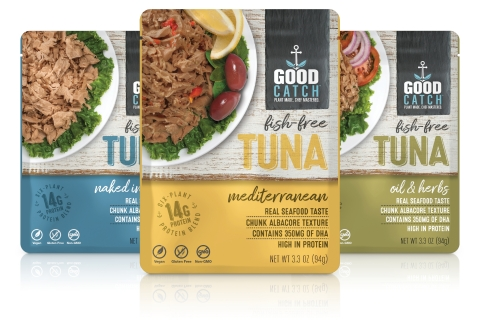 San Diego's Bumble Bee Foods Announces Joint Distribution Venture with Pioneering Plant-Based Seafood Brand Good Catch