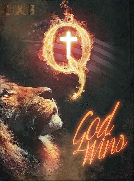 QAnon God Wins Q Movement is True Qspiracy.com