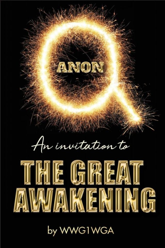 QAnon Invitation to The Great Awakening #WWG1WGA
