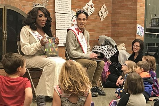 Is listening to a drag queen read a story dangerous for a child?