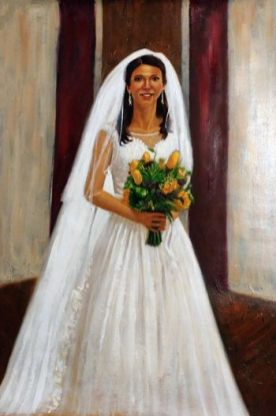 wedding painting greenville sc oil