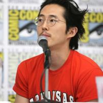 "Steven Yeun speaks at DreamWorks Animation ""Voltron"" Panel at 2016 Comic-Con on Thursday, July 21, 2016, in San Diego, Calif. (Photo by Eric Charbonneau/Invision for DreamWorks Animation/AP Images)"