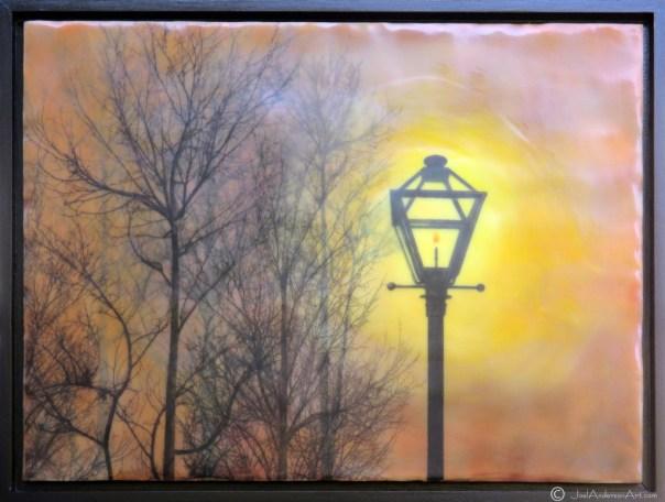 encaustic-art-trees-gaslamp-glow-joel-anderson