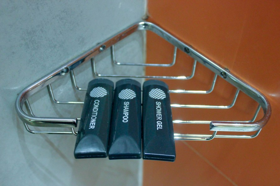 Free toiletries replenished daily
